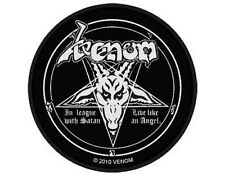 VENOM in league with satan 2010 WOVEN SEW ON PATCH official merchandise