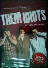 THEM IDIOTS WHIRLED TOUR Bill Engvall Larry The Cable Guy Jeff Foxworthy SEALED