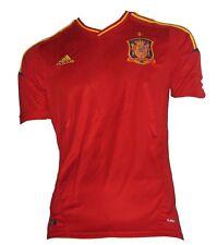 adidas Spanien FEF Home Trikot 2012 X10937 University Red/sunshine rot Herren jungen