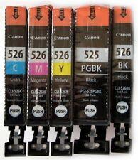 5 Canon Patronen original PGI-525 CLI-526 für Pixma iP4850 iP4950  TOP Qualität