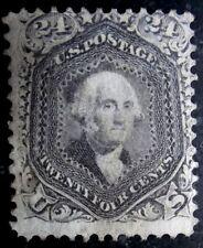 Buffalo Stamps, Scott USA #78b, MNG & Fine w/ nice gray color, CV = $2,700 as MH