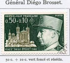 STAMP / TIMBRE FRANCE OBLITERE N° 1668 GENERAL DIEGO BROSSET