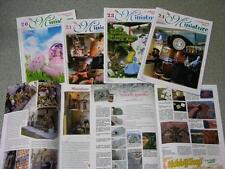 4 riviste LA BACCHETTA MAGICA MINIATURE e creazioni in pasta sintetica roombox 4