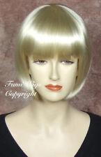Bob Style Wig In Vanilla Blonde /Brilliant Quality 100% Japanese Fibre/Fumi Wigs