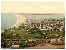 7 Victorian View Pictures Portland Chesil Beach Rufus Sandsfoot Castle Old Photo