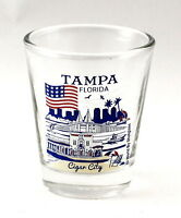 City of St Louis at Night Skyline Shot Glass