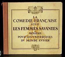 Femmes savantes vol 2 : D'Inès Chambreuil Bovy Boudet... 4 x 78 trs / 78 RPM EX+