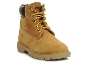Junior/Youth Timberland  6 Inch Basic Waterproof Boots Wheat 10960
