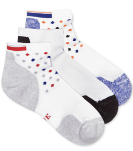 Hue 3 pair Socks Air Sleek Quarter‑top Cushioned Socks Coin Pack