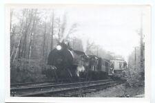 Montreal Sightseeing Car #4 Steam tank Loco. #5 Railroad Snapshot Photo
