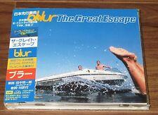 PROMO issue! BLUR Damon Albarn Japan CD obi MORE LISTED Great Escape BONUS TRACK