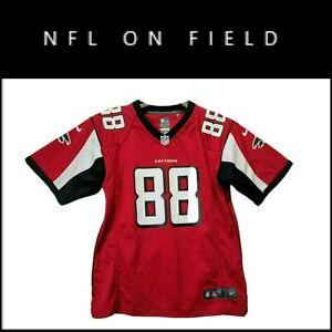 Nike NFL On Field Atlanta Falcons #88 Gonzalez Football Jersey Size Youth Large