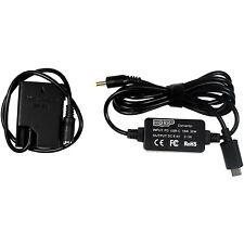 USB-C DC Converter fits Nikon D3000, D5000, Coolpix P7000 Series Digital Camera