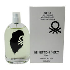 Nero by Benetton for Men EDT Cologne Spray 3.3 oz. Tester NEW