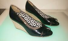 Dexter Dexflex black wedge shoe size 9.5 women's good condition SHIPS FROM USA