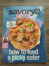SAVORY MAGAZINE-JOY BAUER, PICKY EATER RECIPES, APPLES, SPAGHETTI SEPTEMBER 2018