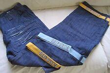 Marithe Francois Girbaud Straps Hip Hop Rapper Street Baggy Denim Jeans pants 38