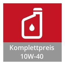 Ölwechsel zum Komplettpreis mit Motorenöl 10W-40