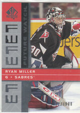 2002-03 SP Authentic   #166  Ryan MILLER  Future Watch   RC     #/900