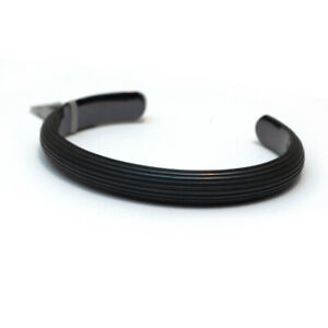 New DAVID YURMAN Men's 10mm Royal Cord Cuff Bracelet in Black Titanium
