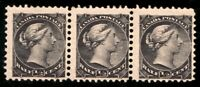 #34 Canada 1882 Queen Victoria 1/2 Cent stamps MNH cv $27  Fine - disturbed gum