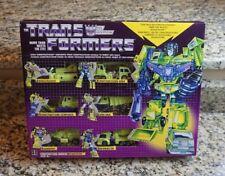 Transformers Constructicon Devastator G1 2018 Walmart Exclusive Decepticons