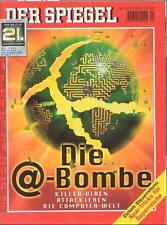 SPIEGEL 20/2000 Die Bedrohung aus dem Internet durch Killer-Viren