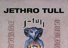 JETHRO TULL 1999 J.TULL DOT COM PROMO POSTER ORIGINAL