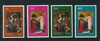 Montserrat 1971 Easter full set of stamps. MNH. Sg 268-271.