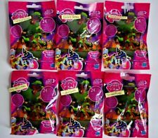 NEW Lot of 6 My Little Pony Friendship is Magic Wave Blind Bag Mini Figures