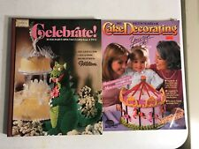 Wilton Cake Decorating Books; Copyright 1983; Lot of 2