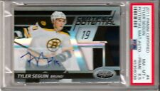 PSA 8.5 2011 Tyler Secuin Panini  Certified Auto-Card Boston Bruins 23/25 # 4