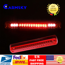 1988-1998 Chevy GMC C/K 1500 2500 3500 Red Cargo 3RD Third Brake Lights Lamps