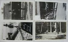 Lot of 20 Real Photos 1921 of Long Beach, CA and Around CA