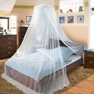 Elegant Round Lace Insect Bed Canopy Netting Curtain Polyester Bedding Mosquito