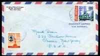HAITI to USA airmail cover - Nice