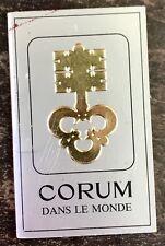 CORUM Worldwide Service Center Booklet Admiral's Cup Competition Chrono Bridge