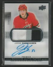 2017-18 Upper Deck Premier Janne Kuokkanen Rookie Auto Patch 094/299