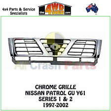 GU NISSAN PATROL Y61 CHROME GRILLE SERIES 1 & 2 1997 - 2002 GRILL SURROUND