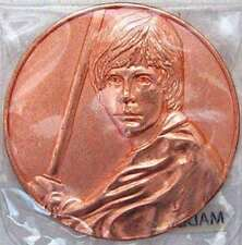Star Wars California Lottery Promo Luke Skywalker Coin