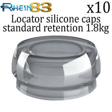 10x Rhein 83 Dental Implant Locator Silicone Flat Standard Retention Caps