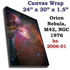 Orion Nebula M42  NGC 1976 Hubble JPL NASA space telescope Canvas art print