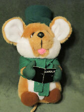 Vintage Christmas Carol Mouse by Applause 10in. Plush Stuffed Animal