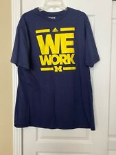 mens university of michigan tshirts large