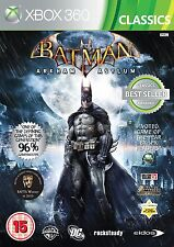 Microsoft X Caja Xbox 360 Juego Batman: Arkham Asylum - Classics Raro Nuevo