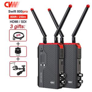 CVW SWIFT 800 pro 800ft Wireless Image Video Dual SDI +HDMI Transmitter Receiver