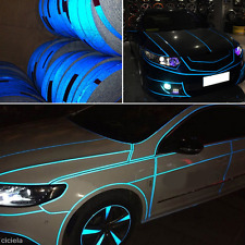 Blue Car Reflective Safety Warn Conspicuity Roll Tape Film Sticker Decal 2cm*5m