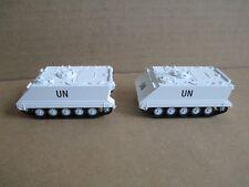 2x m113 MTW como Minitanks las Naciones Unidas United Nations blanco gesupert nuevo ho 1:87 - leer!