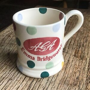 Emma Bridgewater Half Pint Mug Polka Dot AGA 2009 New