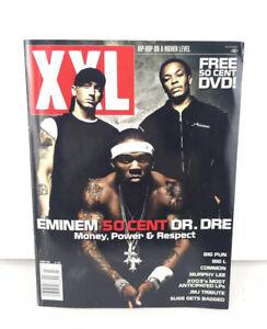 XXL Magazine March 2003 Eminem Dr Dre 50 Cent Money, Power & Respect No. 45